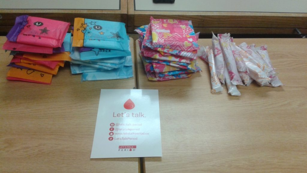 Let's Talk Period - The High School Outreach Program Continues!