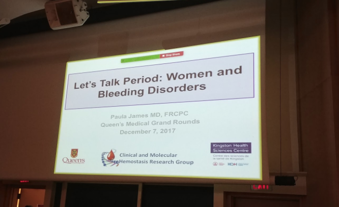 Spreading The Word at Medical Grand Rounds